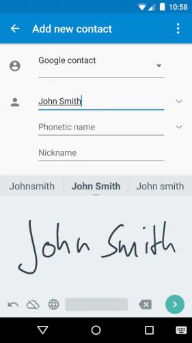 Google-Handwriting-Input-Phones