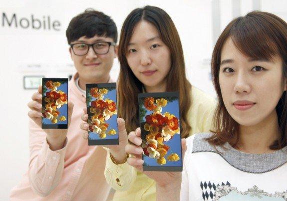 LG G4 QHD Display