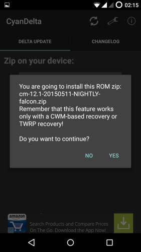 MotoG-XT1033-CyanogenMod-121-CyanDelta-OTA-Update-Recovery