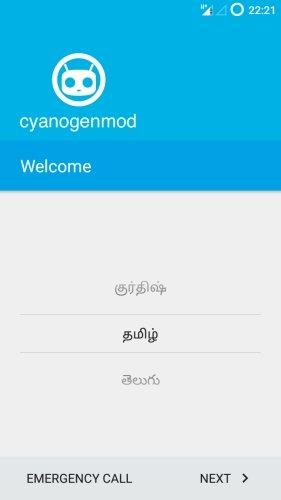 MotoG-XT1033-CyanogenMod-121-Welcome