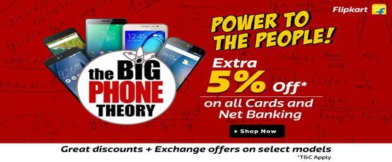 Flipkart The Bing Phone Theory Thanksgiving Sale India