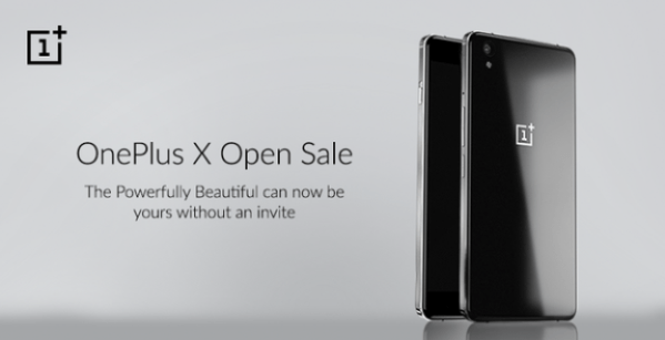 OnePlusX Open Sale India