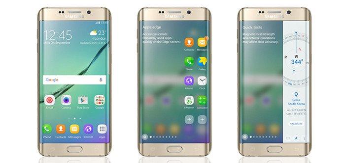 Galaxy S6 Enhanced Edge Screen