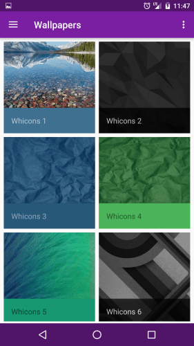 Whicons android icon pack