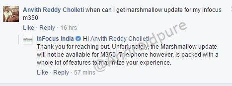 Infocus M350 marshmallow update
