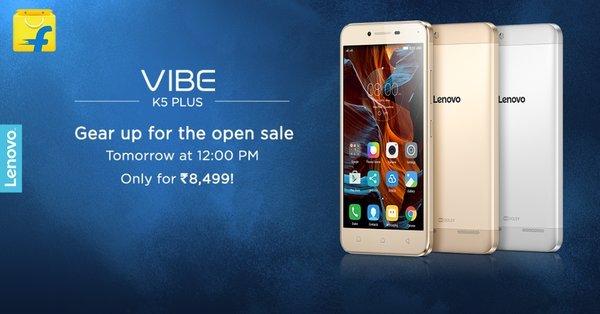 Vibe K5 Plus Open Sale