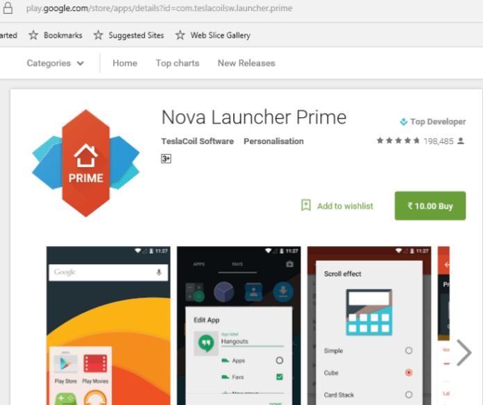 Nova Launcher Prime sale 2016 10 rupees e1466501402499 - Poweramp Full Version Unlocker and Nova Launcher Prime are on sale for 10 rs in India
