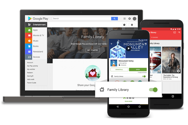 Google-Play-Family-Library