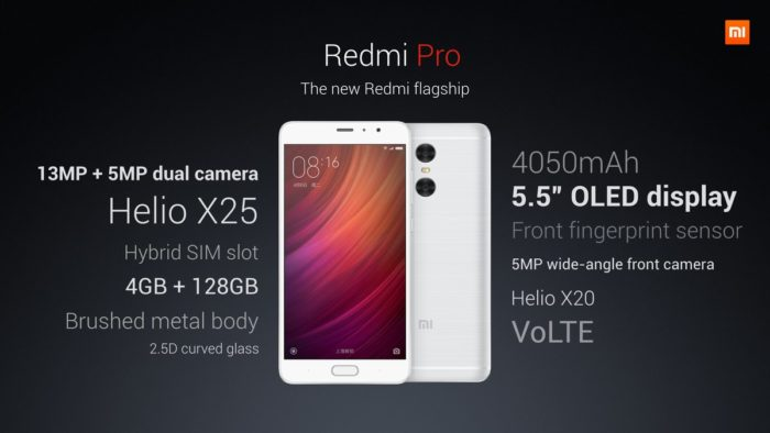 Redmi Pro official