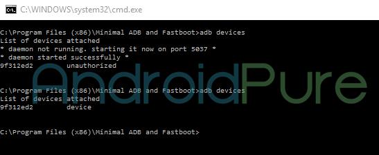 Redmi Note 3 ADB Devices