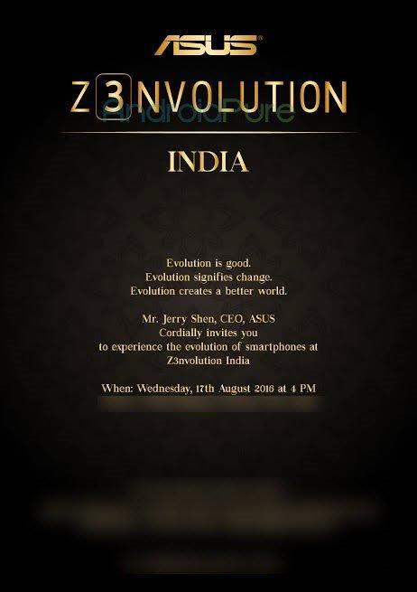 Zenfone 3 India