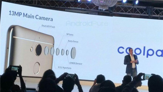 Coolpad Note 5 launch 4 - Coolpad slashes prices of Cool1 and Note 5 series devices