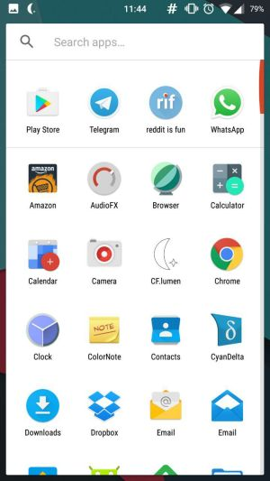 Nova Launcher 5 Beta App Drawer 2 - Nova Launcher 5.0 beta update adds Pixel Launcher style search bar, swipe to open drawer and more