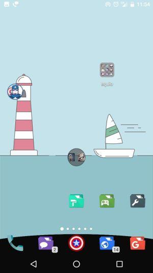 Nova launcher 5 beta dock navbar 3