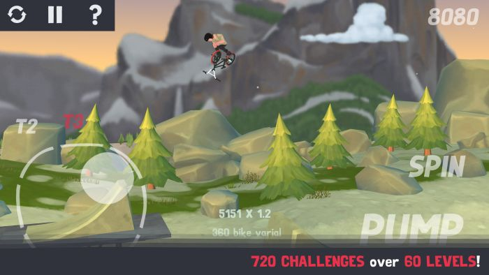 Pumped BMX 3 - Pumped: BMX 3 released for $3.99 on Google Play