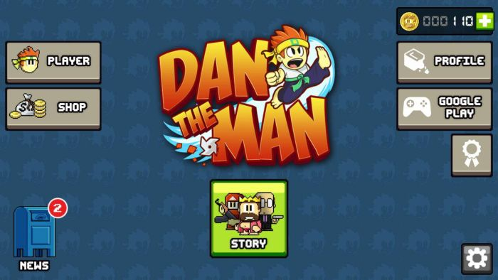 Dan The Man Android - Halfbrick Studios' action platformer Dan The Man is now available globally on Google Play
