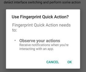 Fingerprint Quick Action 5 AP-Home 8
