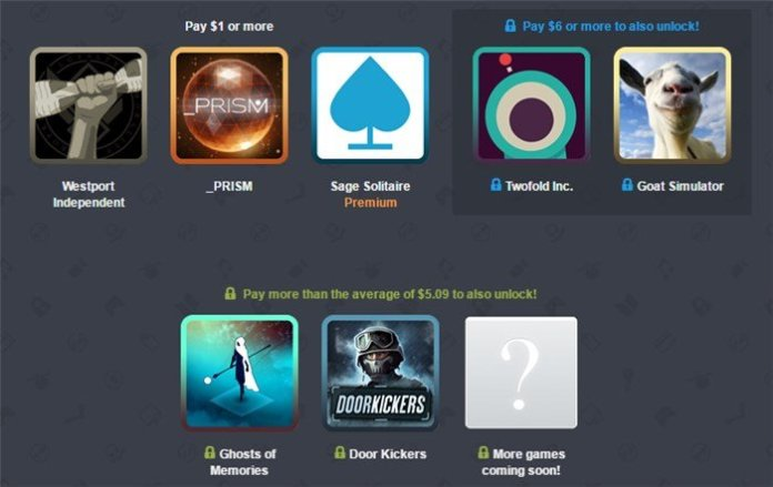 Humble Mobile Bundle 21 - Humble Mobile Bundle 21 featuring Door Kickers,  Goat Simulator, Westport Independent and more games goes live