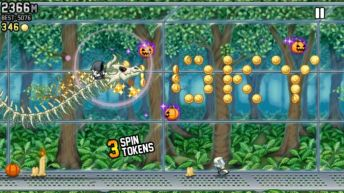 Jetpack Joyride Bone Dragon Grim Reaper - Jetpack Joyride Halloween update brings Bone Dragon, Grim Reaper costume, Jack-o'-lantern jetpack and more