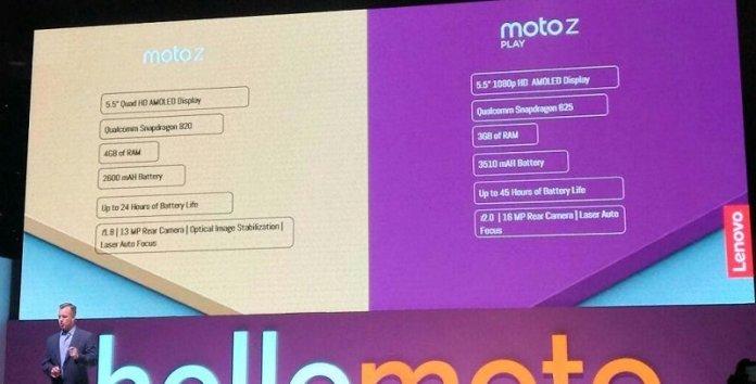 moto-z-specs-india-launch