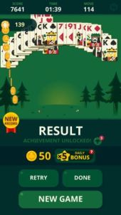 Solitaire Decked Out Ad Free win 1 - Solitaire: Decked Out Ad Free is the best version of Patience/Klondike card game ever made