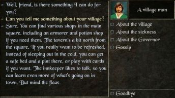 The Quest dialogues - The Quest RPG is now available for Android devices, and here is our mini review of the game