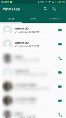 WhatsApp video call Android 2 - WhatsApp video calls are now live in the beta version of the Android app
