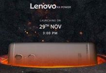 Lenovo K6 Power India