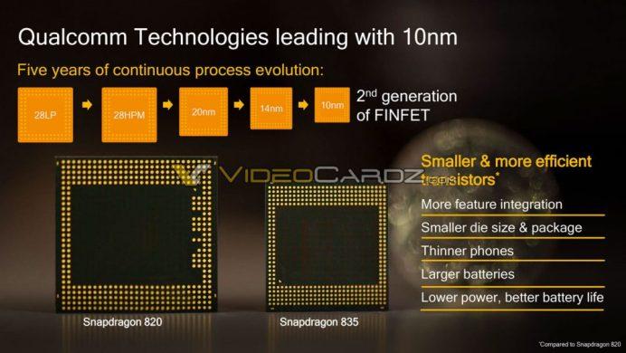Qualcomm Snapdragon 835 b - Qualcomm Snapdragon 835 details leak via slides