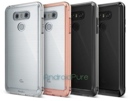 LG G6 h - Exclusive: LG G6 Case renders leak, reveal the design