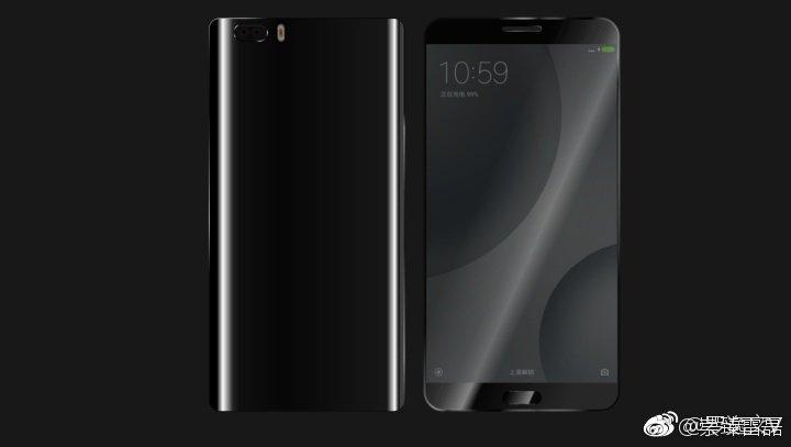 Xiaomi Mi 6 Render - Alleged Xiaomi Mi 6 Render, About Phone and Price of variants leak