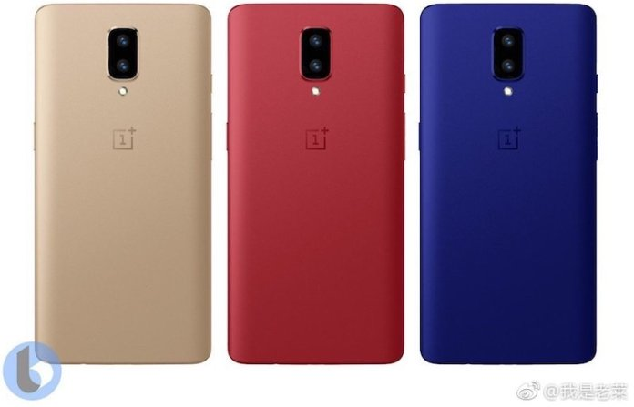 OnePlus 5 Colors Alleged OnePlus 5 Render in Blue, Red and Gold color leak 1