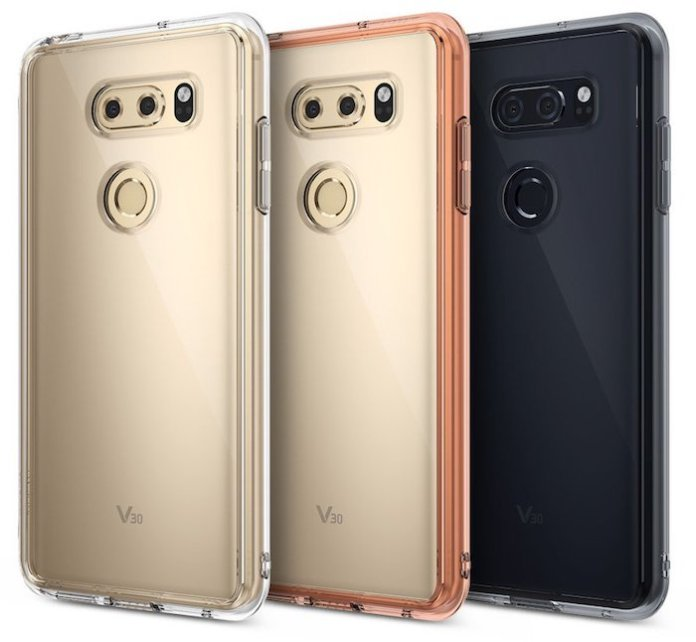 LG V30 Case LG V30 case leak reveals the rear panel design 1 Leaks | News | Phones