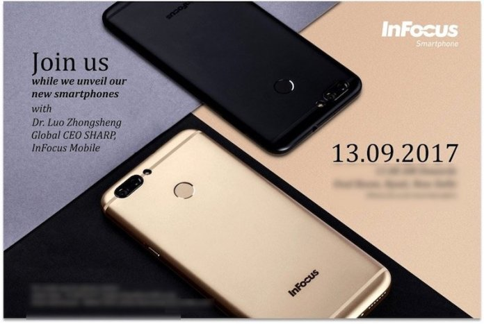 Infocus Turbo 5 Plus launch - Infocus Turbo 5 Plus and Snap 4 to be unveiled on September 13