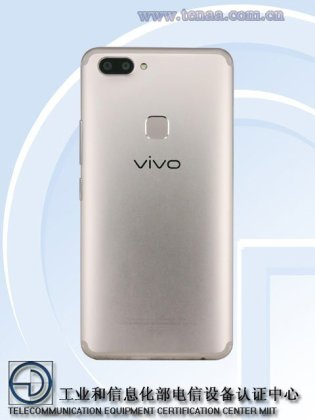 Vivo X20 c - Vivo X20, X20A images surface on TENAA; reveal Full View Display and Dual camera