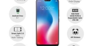 VIvo V9 Specifications - AP-Home