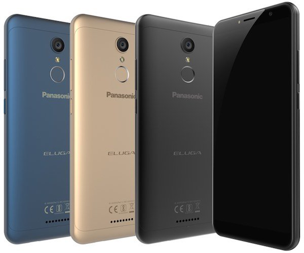 Panasonic Eluga Ray 550 - Panasonic Eluga Ray 550 with 18:9 display, 3GB RAM, metal body launched for Rs. 8999