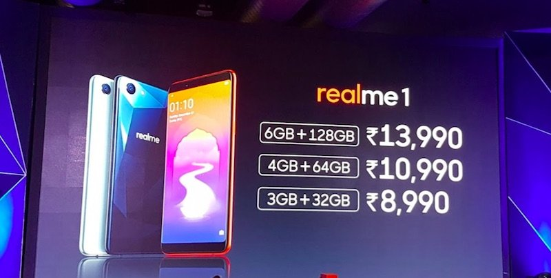 Oppo Realme 1 With Up To 6GB RAM, Face Unlock Launched In India