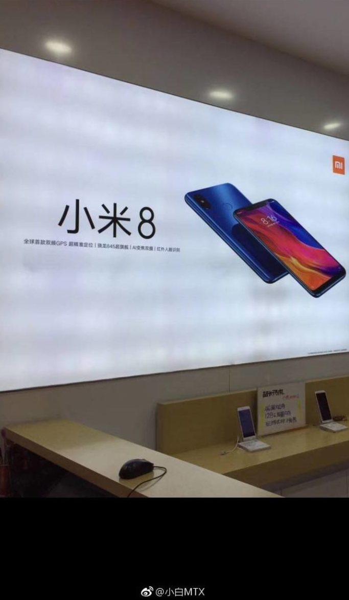 Xiaomi Mi 8 Render e1527658099983 Xiaomi Mi 8 and Mi 8 SE Renders showing notch, Mi Band 3 box leaks 2 Leaks | News | Phones