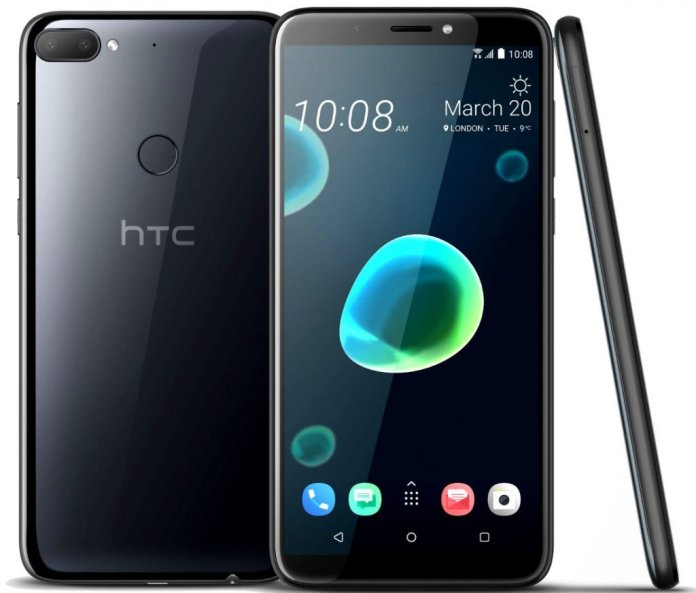 HTC Desire 12 - HTC Desire 12 and Desire 12+ with 18:9 full-screen display launched in India