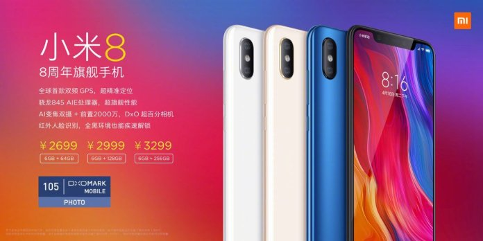 MI 8 Price a - Xiaomi Mi 8 and Mi 8 Explorer Edition with in-display fingerprint sensor announced