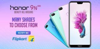 Honor 9N colour options