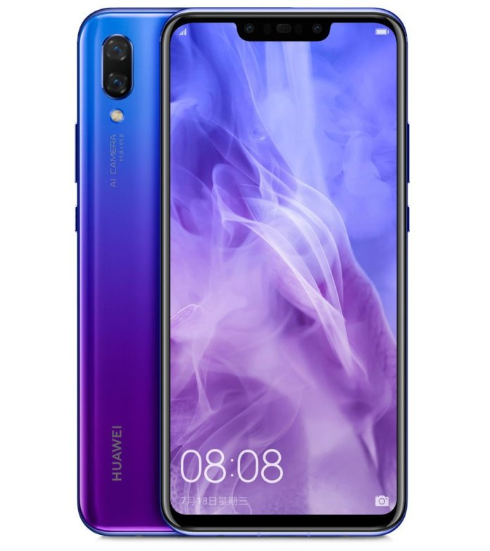 Huawei Nova 3 2 Huawei Nova 3 and Nova 3i with Notch, Four Cameras launched in India 1