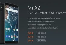 Mi A2 features