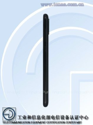 Moto One b Renders of Motorola Moto One Power with 4850mAh battery surface on TENAA 2