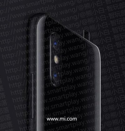 Xiaomi Mi Mix 3 Render a Leaked Xiaomi Mi Mix 3 teaser reveal popup camera like Vivo Nex 2