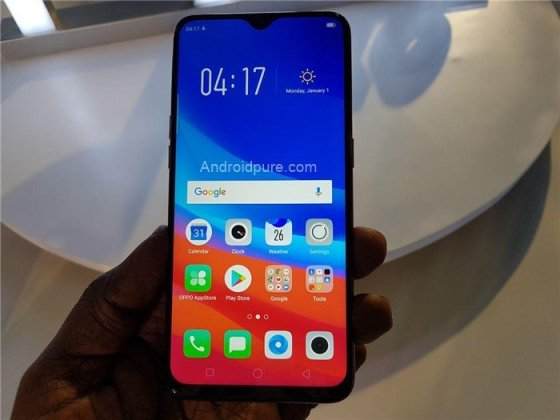 Oppo f9 pro hands-on 3