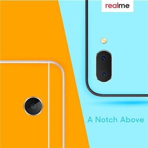 Realme 2 dual cameras