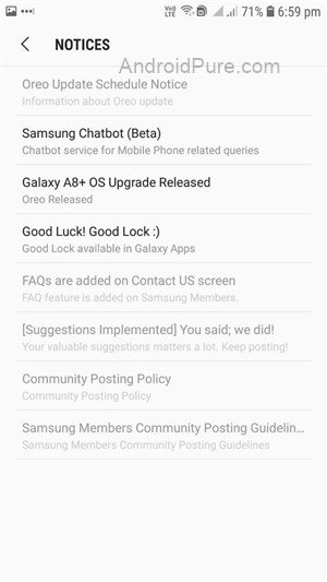 Samsung Android Oreo Update Roadmap Officially Announced