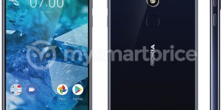 Alleged Nokia 7.1 Plus render